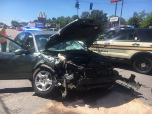 79 year old Stella Dyer of Smithville, driving a 2002 Nissan Altima, was making a left from the turning lane on Broad Street to head south on Congress Boulevard Monday when she crossed the path of an eastbound 2018 International tractor trailer rig driven by 38 year old Bryan White who was hauling general freight. Dyer and a passenger of her car, 18 year old Elijah Boyd of Smithville were taken by DeKalb EMS to Ascension Saint Thomas DeKalb Hospital. White was not injured.