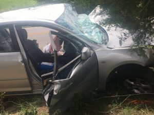 A 29 year old Smithville woman was airlifted this morning (Tuesday) after her car crashed into a tree on Short Mountain Highway.