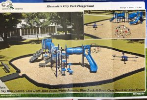 Proposed new Alexandria Playground Project