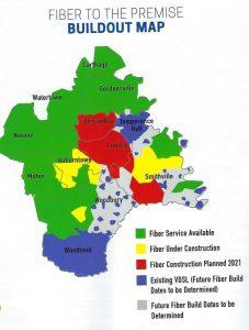 DTC FIber Optic Buildout Map