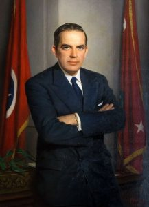 The late Tennessee Governor Frank G. Clement