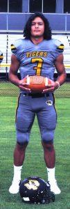 Tiger Quarterback Axel Aldino a semifinalist for the Class 4A Tennessee Titans Mr. Football honor