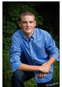 Clayton Crook was named a State Finalist in the 4-H Beef Project.