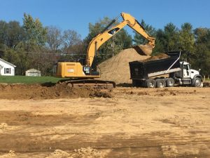 Construction has resumed on the new Smithville Police Department building. City leaders and the contractor have agreed to split the cost on removal and replacement of unsuitable soils. The estimated cost is $100,000 but the city's portion will be no more than $50,000. If the actual cost exceeds $100,000 the contractor, Boyce Ballard Construction of Murfreesboro, has agreed to pay their $50,000 share plus any amount above that.