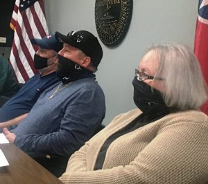 The Smithville Beer Board has suspended the beer license of three businesses for violation of the city's beer ordinance which prohibits the illegal sales of alcohol to a person under the age of 21. Members of the beer board pictured here left to right are Curt Rust, Danny Washer, and Annette Greek.