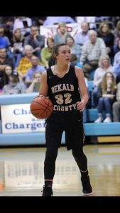 DCHS Lady Tiger Kadee Ferrell becomes member of 1,000 point club