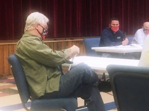County Commissioner Jerry Adcock during the Tuesday evening workshop discussion about the operation of the DeKalb Animal Shelter