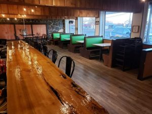 The newly renovated White Possum Restaurant has a new look