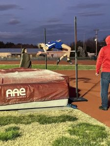 Ally Beneke Top Sophmore High Jumper in State of Tennessee beats Warren County School Record with a jump of 5.04.00