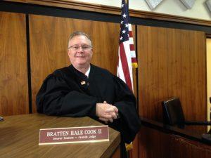 Judge Bratten Cook, II Announces He Will Not Seek Re-election in 2022