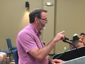 DeKalb County Road Supervisor Danny Hale addressed the county commission during Monday night's regular meeting to defend his department after receiving some criticism from members of the commission at the meeting last month.