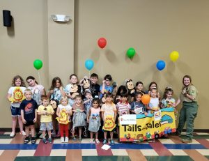 """The DeKalb County Libraries want to thank all of the parents(and grandparents) and kids who made this Summer Reading Program """"Tales and Tails"""" so much fun"""
