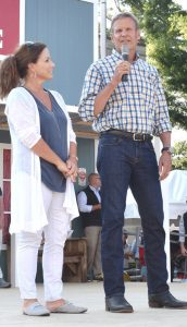 Governor Bill Lee and wife Maria Visit Smithville for the Jamboree's 50th Anniversary