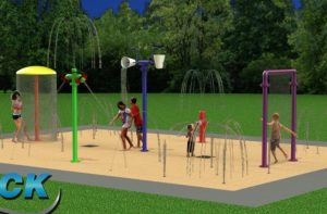 City to Seek Grant for Splash Pad (similar to one shown here) at Greenbrook Park