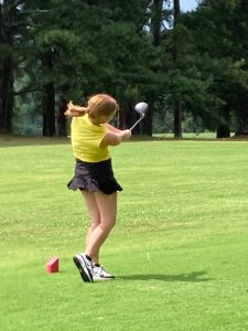 DCHS Golfer Alison Poss Qualifies for Region after 3rd Place Finish in District Tournament