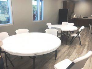Break room at New Smithville Police Department Building